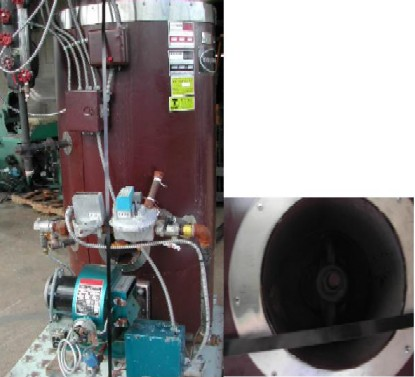 Columbia Vertical Tubeless Steam Boiler