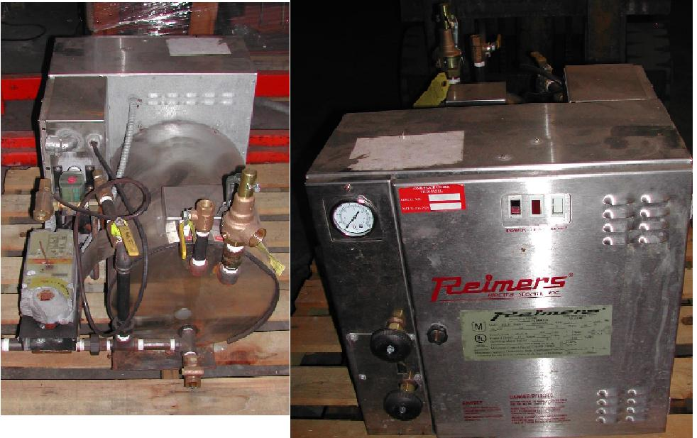 Reimers RH-18 Electric Steam Boiler