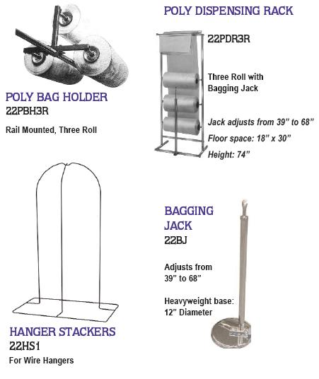 Railex System Garment Handling Accessories