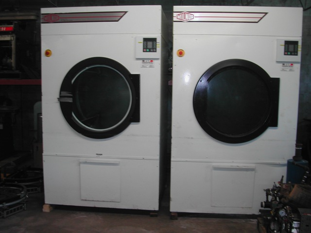 Milnor (ADC) 170LBS.  Steam Dryers