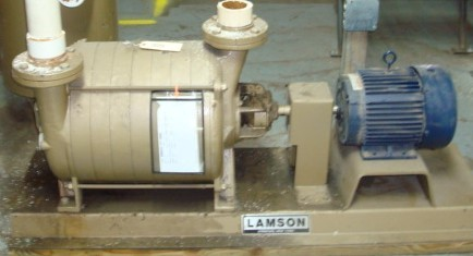 Lamson Horizontal Vacuum Pump with Tank